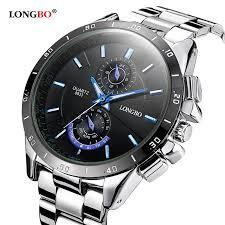 online buy whole elegant watches for men from elegant longbo brand 2016 new luxury stainless steel fashion watch men elegant business quartz watch designed for