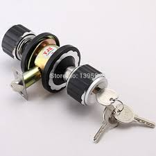 ball type door lock new mm mechanical indoor door lock black cylindrical ball with key pur