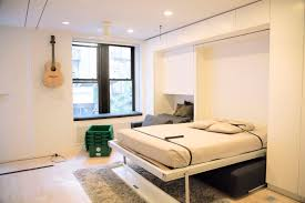 Graham Hill Resource Furniture Wall Bed Soho Nyc Micro Apartment ...