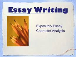 essay writing expository essay character analysis ppt  1 essay writing expository essay character analysis