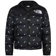 North Face Puffer Jacket Size Chart The North Face Youth Retro Nuptse Black Down Jacket