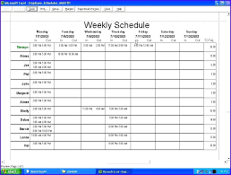 employee schedules templates excel work schedule template weekly sun weekly schedule template 8 6