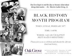 Black History Month Church Program Ideas. Black History Month ...