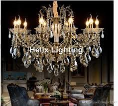 home design crystal chandelier parts bronze finished antique lingting luxurious ac led