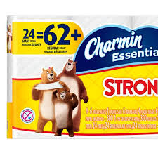 charmin bathroom tissue. CHARMIN TOILET PAPER 24 Pack Strong Roll Bathroom Tissue Long Lasting Scent Free Charmin
