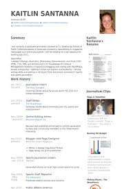 Broadcast Journalism Resume examples samples Free edit with word