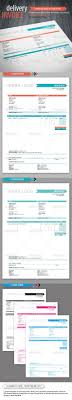 Indesign Invoice Template Delivery Invoice Template Template Indesign Templates And 16