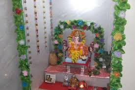 ganesh chaturthi decoration ideas for home small simple home