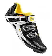 Mavic 2014 Pair Of Shoes Zxellium Black White Yellow