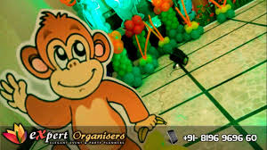Jungle Decoration Expert Birthday Balloon Decoration Jungle Themed Party At