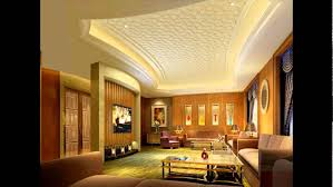 Small Picture CEILING DESIGN FOR LIVING ROOM YouTube