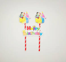Princess Cake Topper Partymy Malaysia Online Party Pack Shop