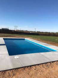 fiberglass pool guyz just finished the installation of another fiberglass swimming pool in the dallas