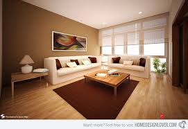 Earth Tones Contemporary Living Room Ideas 2013