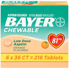 bayer pain reliever ingredients