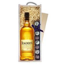 send teachers highland cream truffles wooden box