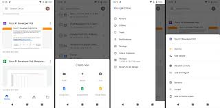 Android New Material Design Google Drive For Android Is About To Get A Material Design
