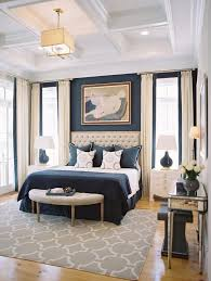 10 Beautiful Bedrooms with Coffered Ceilings. Navy Blue ...