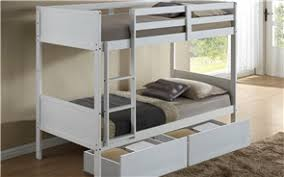 TWIN BUNK BED WHITE