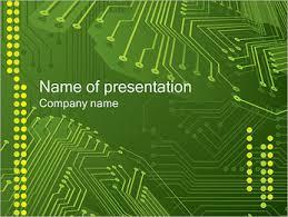 Powerpoint Circuit Theme Circuit Board Powerpoint Template Smiletemplates Com