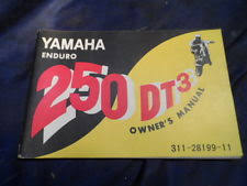 yamaha dt3 motorcycle parts yamaha dt250 dt 250 dt3 nos owner s manual booklet