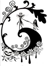 Nightmare Before Christmas Printable Coloring Pages At Getdrawings