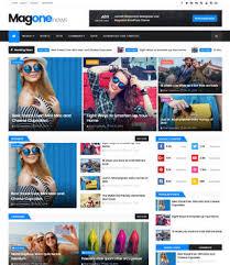 Magone Responsive Blogger Template Blogspot Templates 2019
