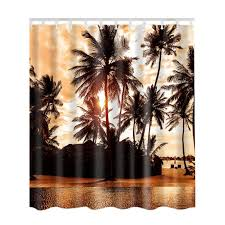 new fabric waterproof bathroom shower curtain panel sheer