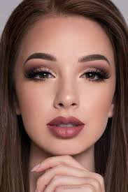 natural prom makeup for brown eyes