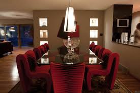 Red Dining Room Chairs Unique Leather Furniture Ideas Orangearts Contemporary Living Room
