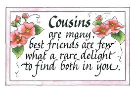Quotes About Childhood Cousins 40 Quotes Enchanting Best Cousins Quote