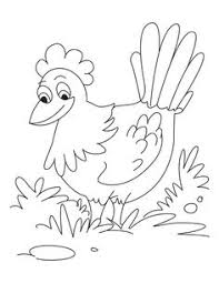 Small Picture Little Red Hen Colouring Pages Free 1920s The Little Red Hen