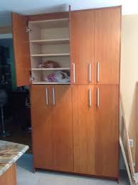 Kitchen Cabinet Door Organizer Tall Kitchen Cabinet With Doors Crowdsmachinecom