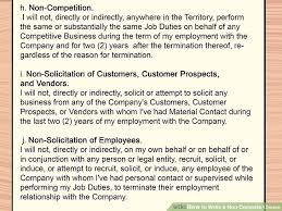 Do Not Compete Clause - Kleo.beachfix.co