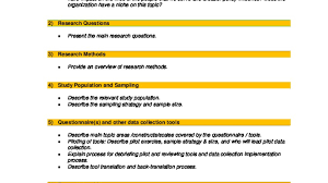 Research Data Collection Protocol Template International Rescue
