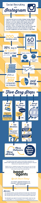 how to use instagram to recruit easy steps infographic recruiting instagram web