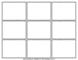 Flashcard Template Blank Flash Card Templates Printable Flash Cards Pdf Format