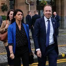 Matt Hancock enjoys romantic Swiss escape with former aide Gina Coladangelo