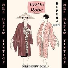 Kimono Robe Pattern