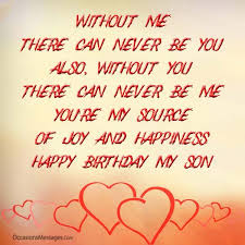 Quotes From Mother To Son On His Birthday Mesmerizing Birthday Wishes For Son From Mother Occasions Messages