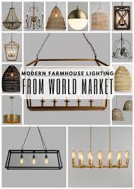 Image Farmhouse Bedroom Farmhouse Lighting Lamps Plus Modern Farmhouse Lighting From World Market Liz Marie Blog