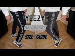 Sizing Update Adidas Yeezy Calabasas Pants Luna Ink Wolves