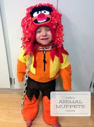 animal muppet costume. Plain Muppet How To Make A Animal Muppets Costume Toddler Halloween One  Project At Time  DIY Blog For Muppet Costume L
