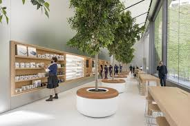 apple new office design. the store\u0027s 42-foot-tall sliding walls open onto post street and union square. apple new office design