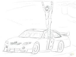 Nascar Coloring Pages To Coloring Pages Printable Nascar Race Car