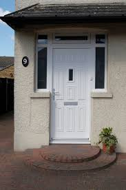 white wood door. White Timber Front Door Wood