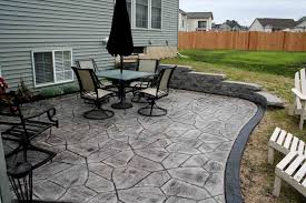 image texture wood stone stamped concrete patio cost per square foot