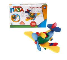 <b>Конструктор 1 Toy</b> пазл Аэроплан 25 деталей - Акушерство.Ru