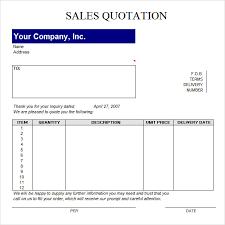 Sample Quotation Format Pdf Quotation Format Pdf Copy Template