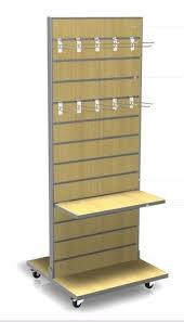 Free Standing Retail Display Units Best Slatwall Display for sales 9